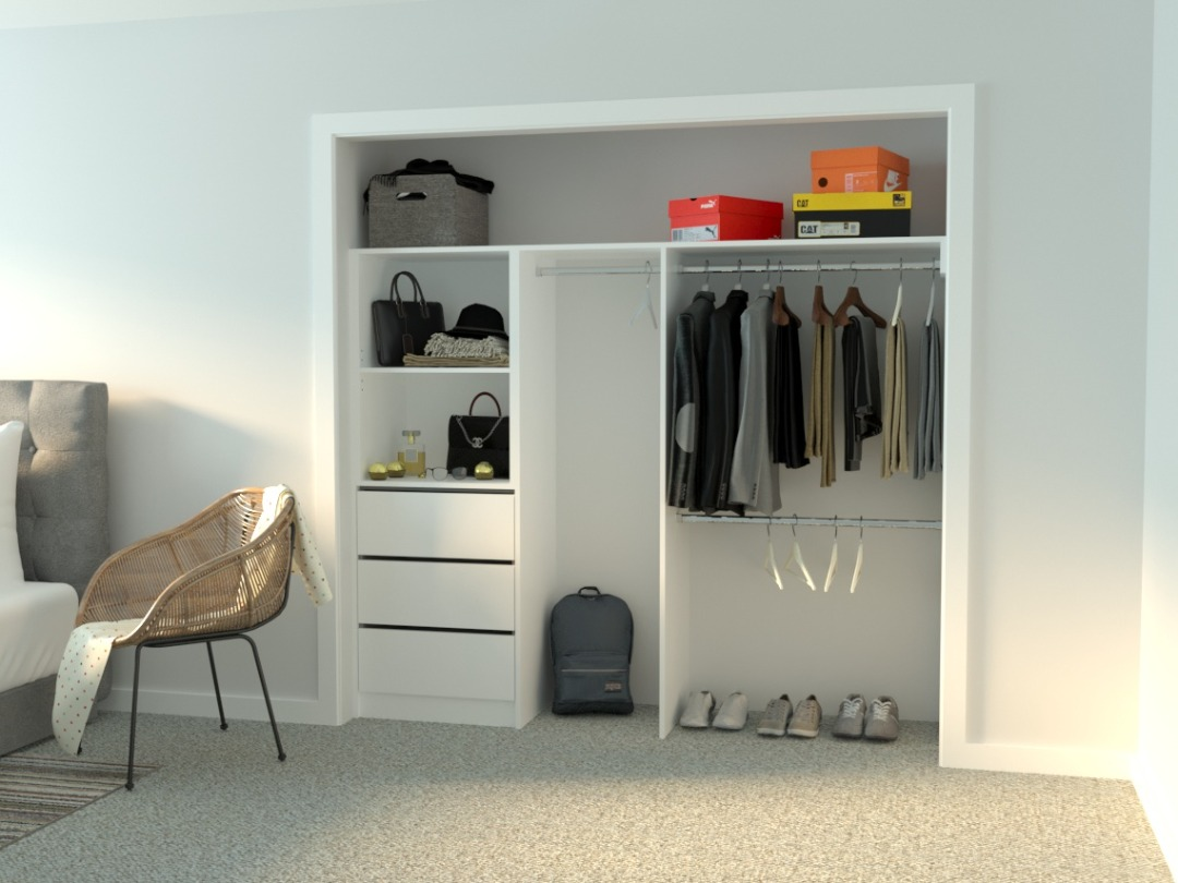wardrobe design Fitzroy for built-in robes