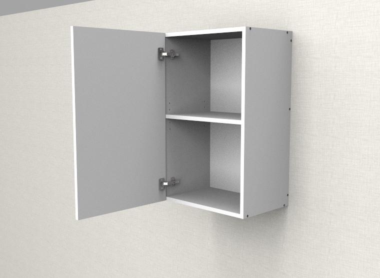 flat pack top cabinet single left door