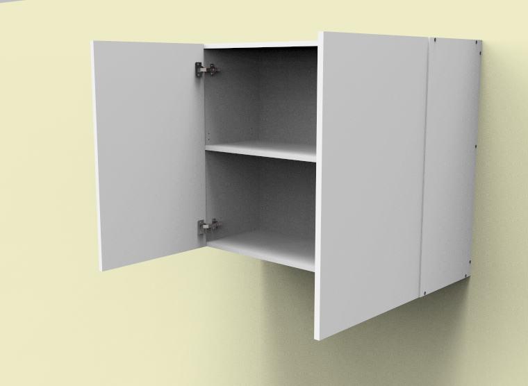 flat pack top cabinet double door