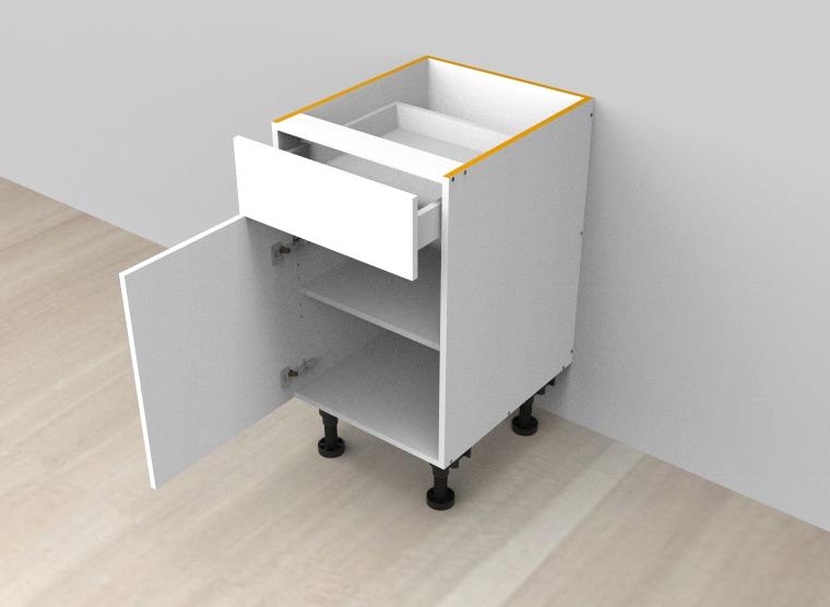 flat pack Single Drawer Single Left Door Cabinet
