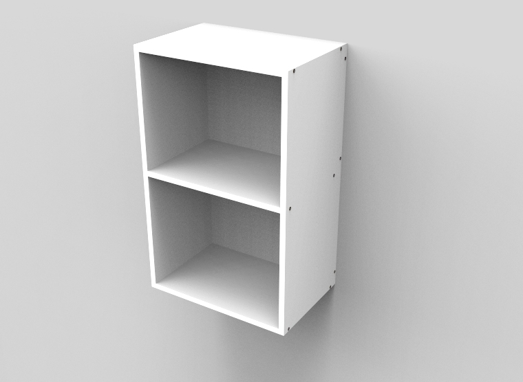 flat pack Top Open Shelf Cabinet