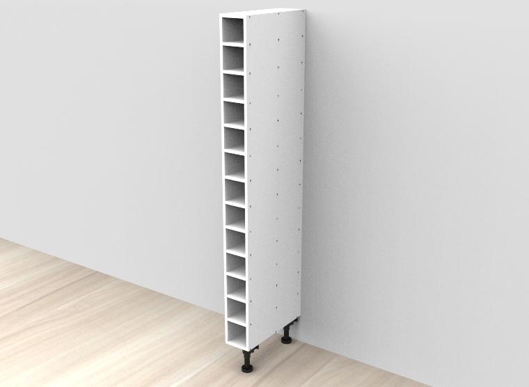 flat pack Tall Wine Rack Cabinet