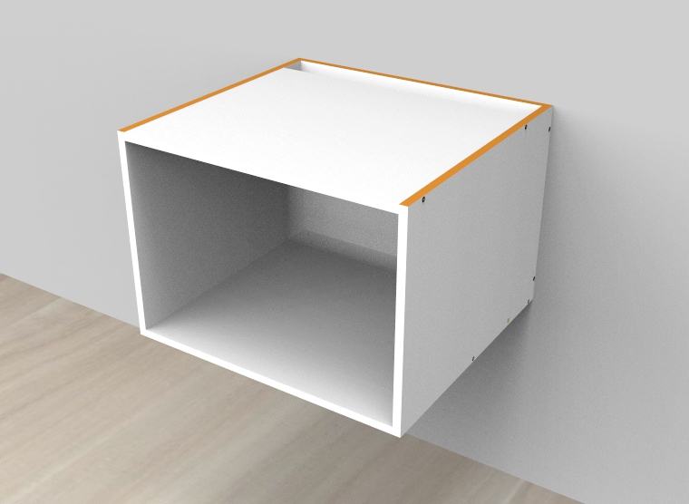flat pack Microwave Box Cabinet