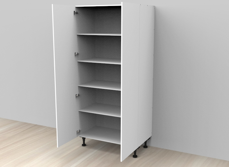 flat pack Tall Standard Double Door Cabinet