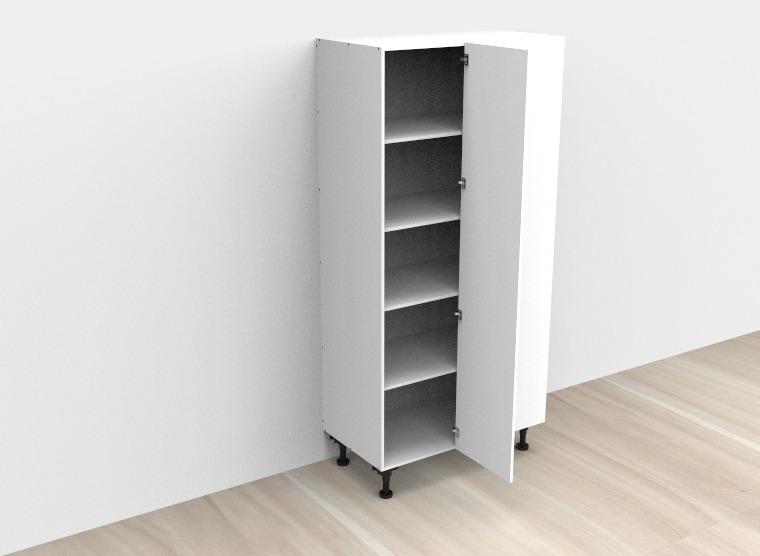 flat pack Tall Blind Single Door Left Corner Cabinet