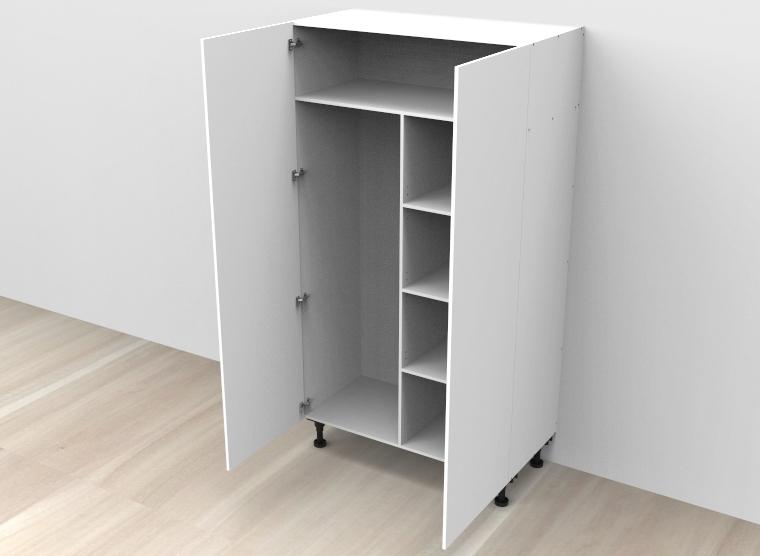 flat pack Broom / Linen Cabinet